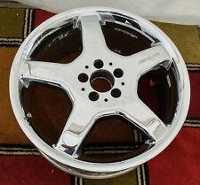 "19"" MERCEDES AMG CL500 CL600 CHROME OEM Factory Wheel Rim 2154010002 99902 Front"