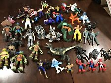 action figure mixed toy lot, Tmnt Batman X-men Power Rangers Marvel Transformers