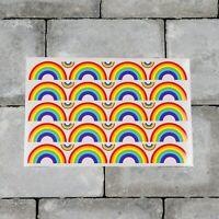 Rainbow Stickers - Planner - Diary - Scrapbooking Sticker - Glossy Finish - 6634