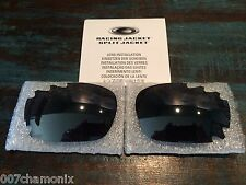 New Oakley Jawbone/Racing Jacket 30th Black Iridium Vented Lens Set