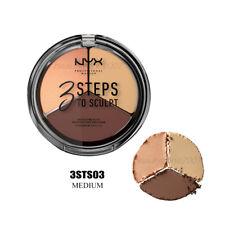 NYX 3 Steps To Sculpt Face Sculpting Palette 3STS03 - Medium