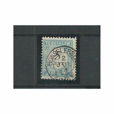 "Nederland P6 D-III  ""HONSELERDIJK 1893"" kleinrond VFU/gebr CV 15+ €"