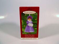 Hallmark Keepsake Ornament 2001 Madame Alexander Meg Little Women #1 in Series