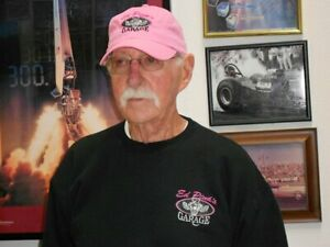 ED PINK GARAGE, THE OLD MASTER, BASEBALL CAP