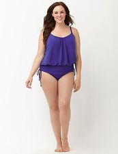 Purple 18W 2X SCARLETT Magicsuit Miraclesuit Lane Bryant One Piece Swimsuit!