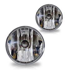 14-16 GMC Sierra Replacement Fog Lights Pair w/Bulbs - Clear