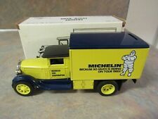 ERTL MICHELIN TIRES FREIGHT TRUCK BANK 1/34 SCALE