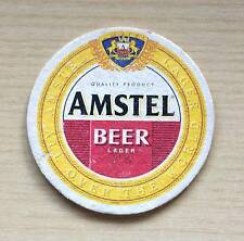 SOTTOBICCHIERE - BIRRA AMSTEL -- THE UNDER GLASS OF BEER - AS NEW