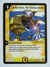 DUEL MASTERS Larba Geer The Immaculate 5/55 DM-02 Evo Crushinators Of Doom Card