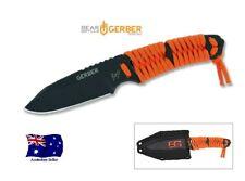 Gerber Bear Grylls Paracord Knife Survival Fixed Blade - Aus Stock