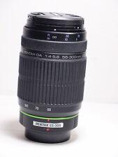 Pentax SMC DA 55-300 mm f4.5.8 Lente para K500 K200 K ED-R K-x K-M K5 K7 K100 K30