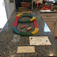 AUTOMATIC TOY CO. CLOCKWORK NO. 320 SPIRAL SPEEDWAY.  COMPLETE W/ORIGINAL BOX!