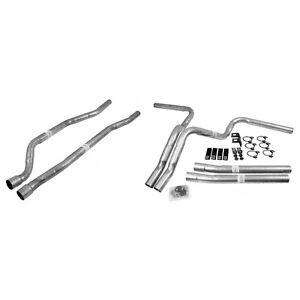 Dynomax 89004 Dual Header Pipe Kit