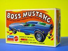 Tom Daniel's Boss Mustang 1970 funny car model Hot Wheels Monogram/Mattel #6786