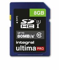 Integral 8GB SDHC Card SDHC Memory Card HD Camcorders Digital camera Memory Card