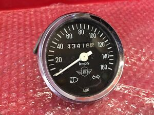 Royal Enfield, 350 Bullet, Clocks, Speedo, Speedometer, From a 1995, N Reg Model