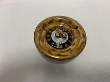 New ListingSigned Limoges France Peint Main Roulette Wheel Hinged Trinket Box