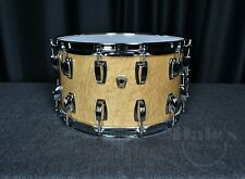 """Ludwig drums Classic Maple Exotic USA 8"""" x 14"""" snare drum Coliseum Birdseye NEW"""