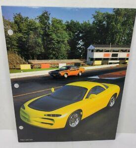 """Vintage 1994 """"FAST LANE"""" Dodge Venom Mead Portfolio Folder"""