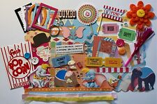 Disney Dumbo Circus Custom Mini Book Album DIY Kit Scrapbook Disneyland