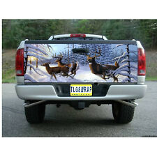 T81 DEER HUNTING BUCK Tailgate Wrap Vinyl Graphic Decal Sticker LAMINATED