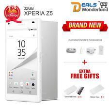 New Sony Xperia Z5 E6653 4G LTE 32GB Smartphone Unlocked White Free Power Bank