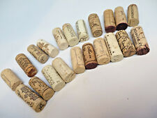 Wine Corks CRAFTS Used REAL Cork Lot of 20 Great for Quick French California #1