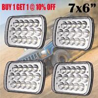 """4pcs 7x6"""" 5X7"""" LED Headlights HI-LO Beam HID H6054 Bulb For Toyota Hilux / Ford"""