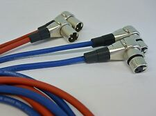 4x4 Meter XLR Cinch-Kabel für Revox PR99 Studer A67 B67 Profiqualität - NEU -