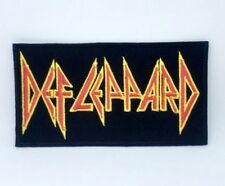 Def Leppard English Rock Band Iron on Sew on Embroidered Patch #1337