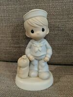 """Precious Moments Figurine """"Bless Those Who Serve Their Country"""" #526568"""