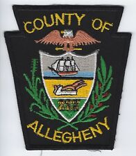 **ALLEGHENY COUNTY AIRPORT PENNSYLVANIA FIRE DEPARTMENT FIRE PATCH**