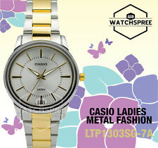 Casio Classic Series Ladies' Analog Watch LTP1303SG-7A