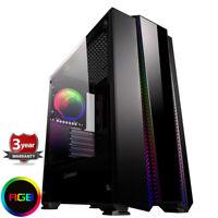 Fast AMD Ryzen 7 1700x Eight Core Gaming PC Computer 2TB GTX 1660ti 6gb  ry8