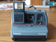 Polaroid Impulse Instant Camera w/ strap Clean Tested working! uses 600 Film