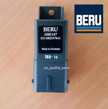 Beru Glow Plug Relay Citroen C3 C4 C5 C8 Peugeot 206 307 407 Partner 1.6 2.0 HDi