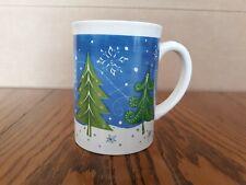Large Winter Christmas Mug Christmas Trees And Snowflakes Michaels