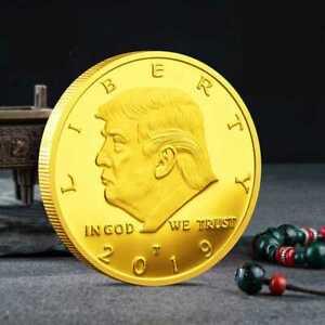 2019 President Donald Trump EAGLE Commemorative Coin Novelty Coins