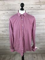 "TED BAKER ARCHIVE Shirt - 17.5"" - Striped - Great Condition - Mens"