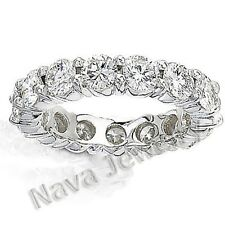 3.00 Ct. Round Brilliant Diamond Eternity Band Ring