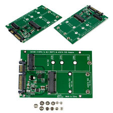 NEW Replacement NGFF M.2 B+M Key or mSATA SSD to SATA III 3 Adapter card.