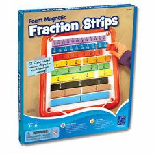 Foam Magnetic Fraction Strips, 51 pcs