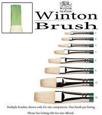 Winsor & Newton Winton Oil Brush Size 2 Flat 5974702