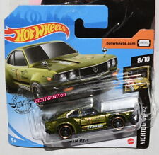 HOT WHEELS 2020 NIGHTBURNERZ MAZDA RX-3 CASE Q SHORT CARD VARIATION W+