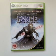 Xbox 360 Game - Star Wars The Force Unleashed Ultimate Sith Edition - Tested