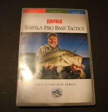 Rapala Pro Bass Fishing Tactics Vol. 1,2,3 Three Disc Set Lindner Productions 1