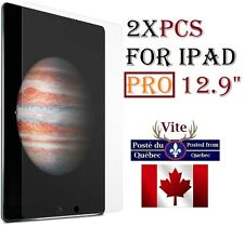 "2X HD clear screen protector iPad PRO 6 6TH 12.9"" film Protecteur Transparent x2"
