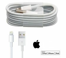 100% AAA QUALITY For Apple iphone 6 6S, 7 5,5S,5C i-pad Air USB charger cable-UK