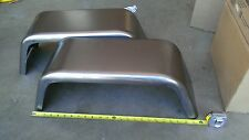 "PAIR of Steel Trailer Fenders Single Axle 8""x24"" JEEP Style FREE SHIPPING!!"