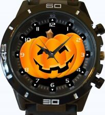 Pumpkin Halloween New Gt Series Sports Wrist Watch FAST UK SELLER